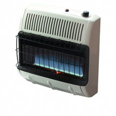 HEATSTAR HSSVFB20KNG VENT FREE GAS HEATER WITH BLOWER-20KBTU-