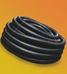Corrugated Poly Drain Pipe & Fittings