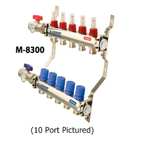 MANIFOLD KIT-8LOOP-SS-CMPLT -M8300P-10-8